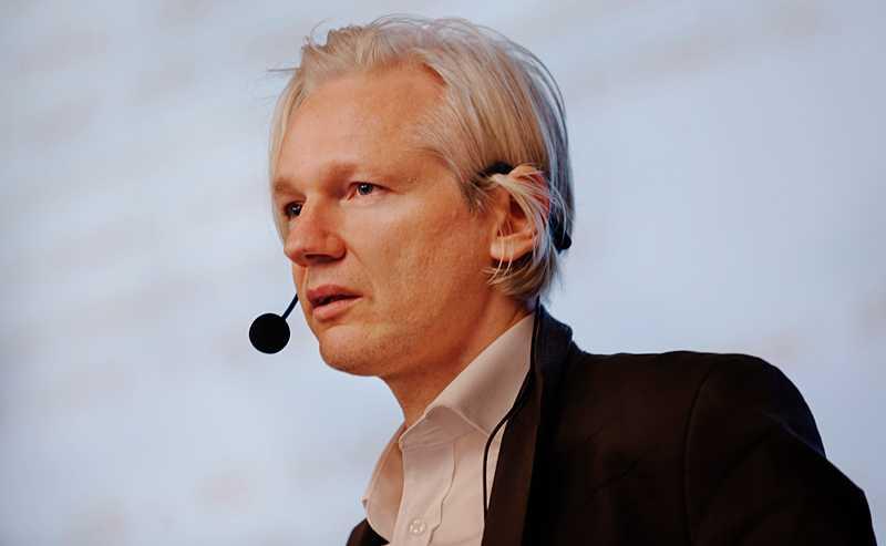 Julian Assange grundade sajten Wikileaks.
