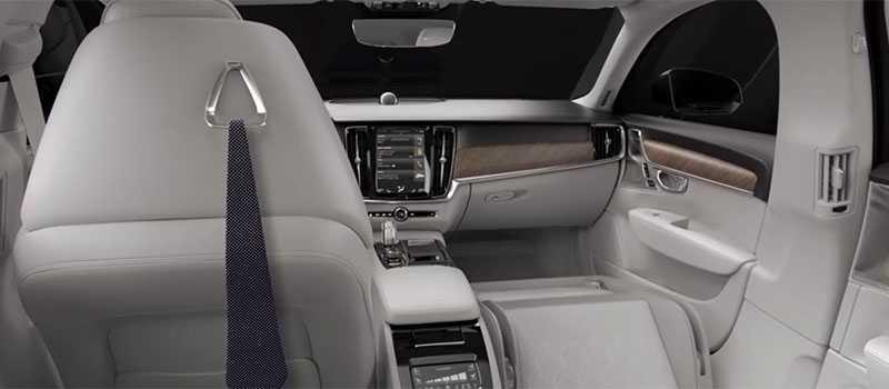 S90 Excellence är den mest exklusiva bil som tillverkats i Kina.