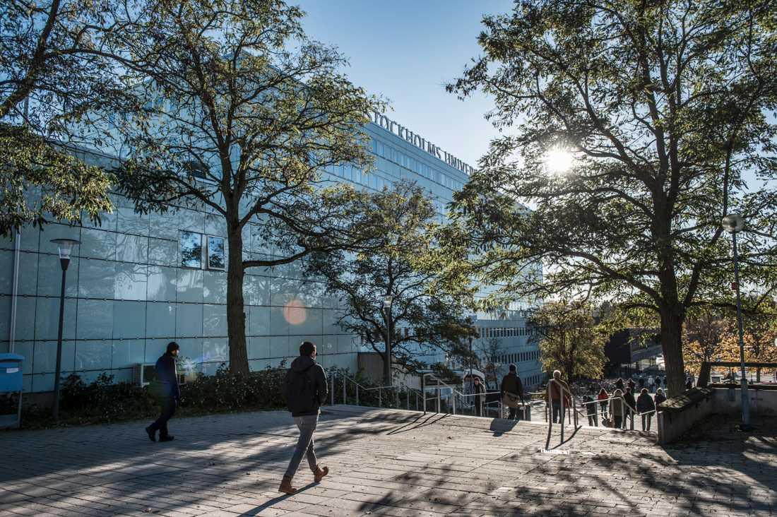 Juristprogrammet vid Stockholms universitet är den populäraste utbildningen just nu. Arkivbild.