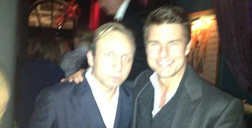 Tom Cruise vid en tidigare fest på Rose