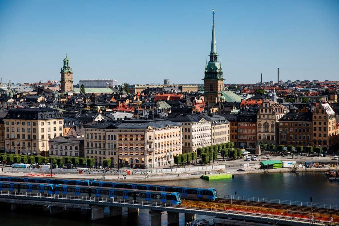 Stockholm är en Europas hårdast drabbade huvudstäder. Arkivbild.