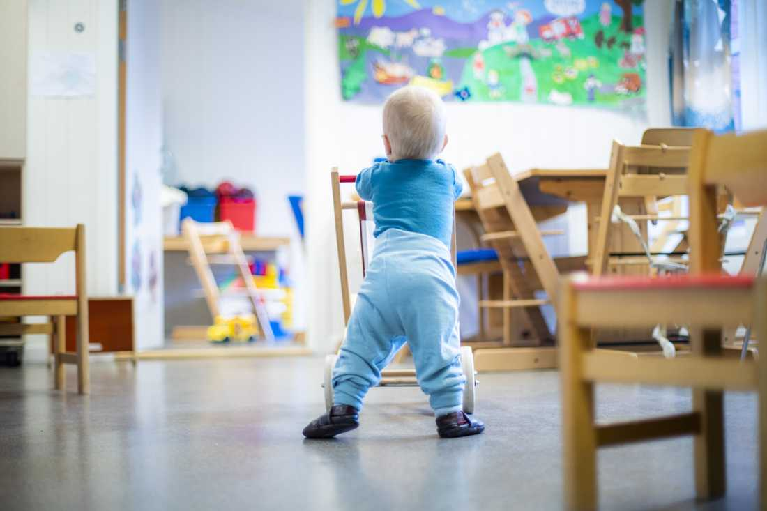 Urinvägsinfektion hos små barn kan vara svår att upptäcka.