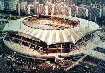 INVIGNINGSARENAN Stad: Söul. Arena: Söul World Cup Stadium. Publikkapacitet: 64677.
