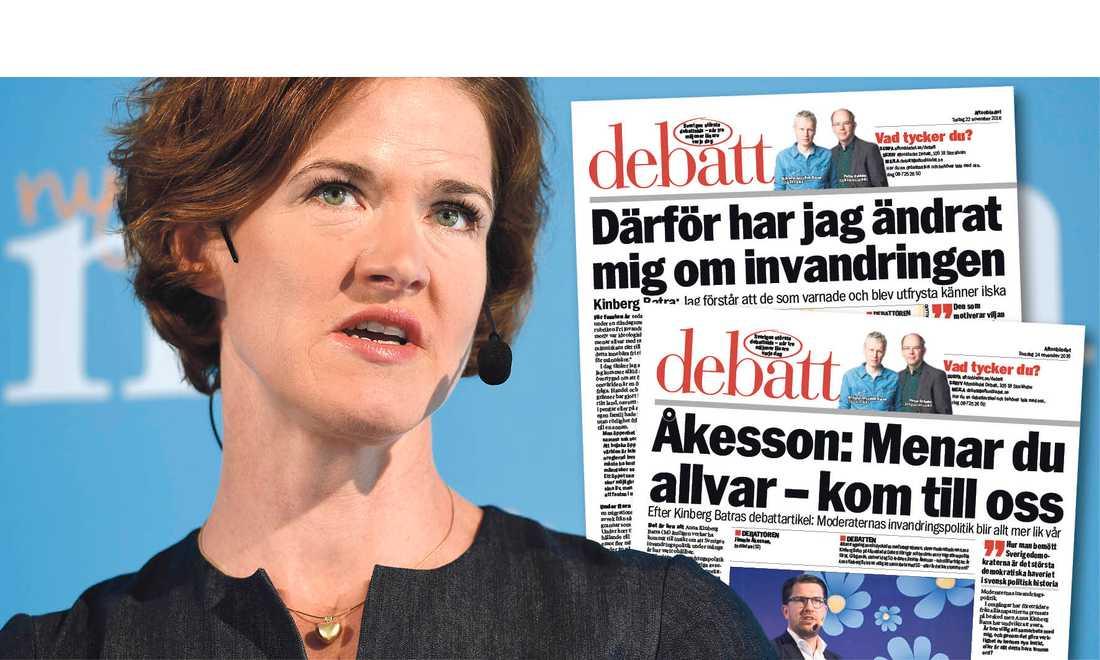 Att bara vara missnöjd med det som varit bygger inte Sverige starkare, skriver Anna Kinberg Batra.