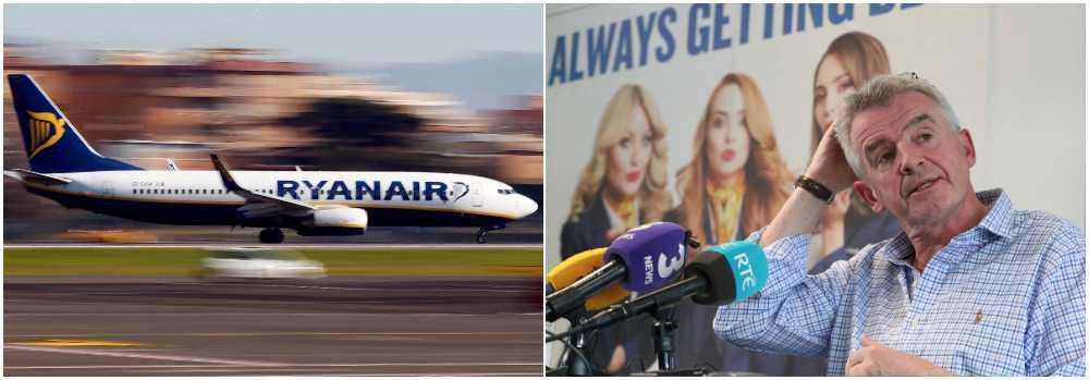 Ryanairs vd Michael O'Leary ber om ursäkt.