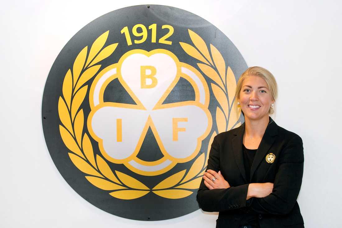 Erika Grahm – spelande sportchef i Brynäs.