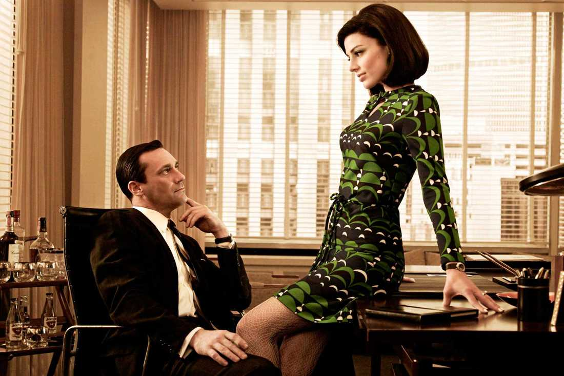 "Jon Hamm  som ""Don Draper"" i ""Mad men""."
