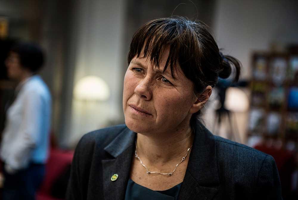 Åsa Romson, språkrör (MP).