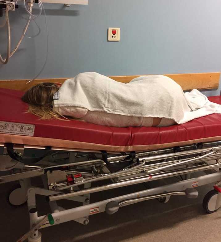 Dottern hamnade på sjukhus efter att hon druckit energidryck.