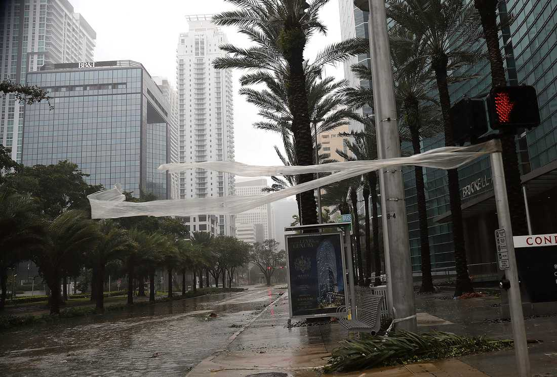 Brickell avenue, Miami.