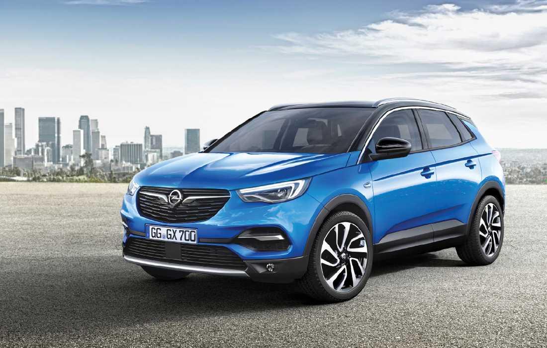 Grandland X är en av 29 modeller som Opel tänker lansera de kommande fyra åren.