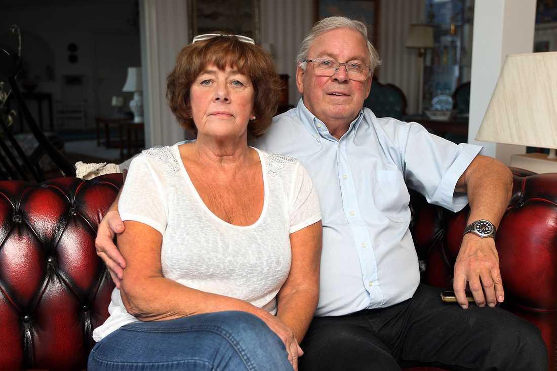 Gudrun och Hans Hammarström, Niclas Hammarströms föräldrar.