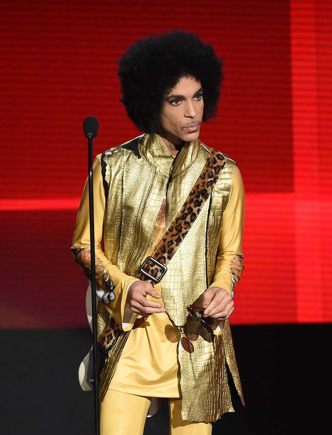 Prince på American Music Awards i Los Angeles november 2015