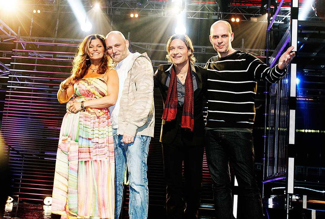 Duon Nordman slog ut Carola i Andra Chansen 2008.
