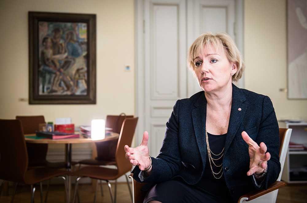 Helene Hellmark Knutsson, minister för högre utbildning och forskning (S).