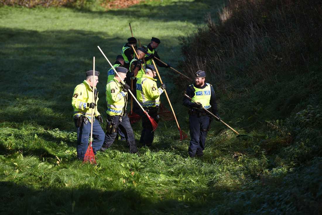 Polis söker efter spår i fallet med mordet på Lena Wesström