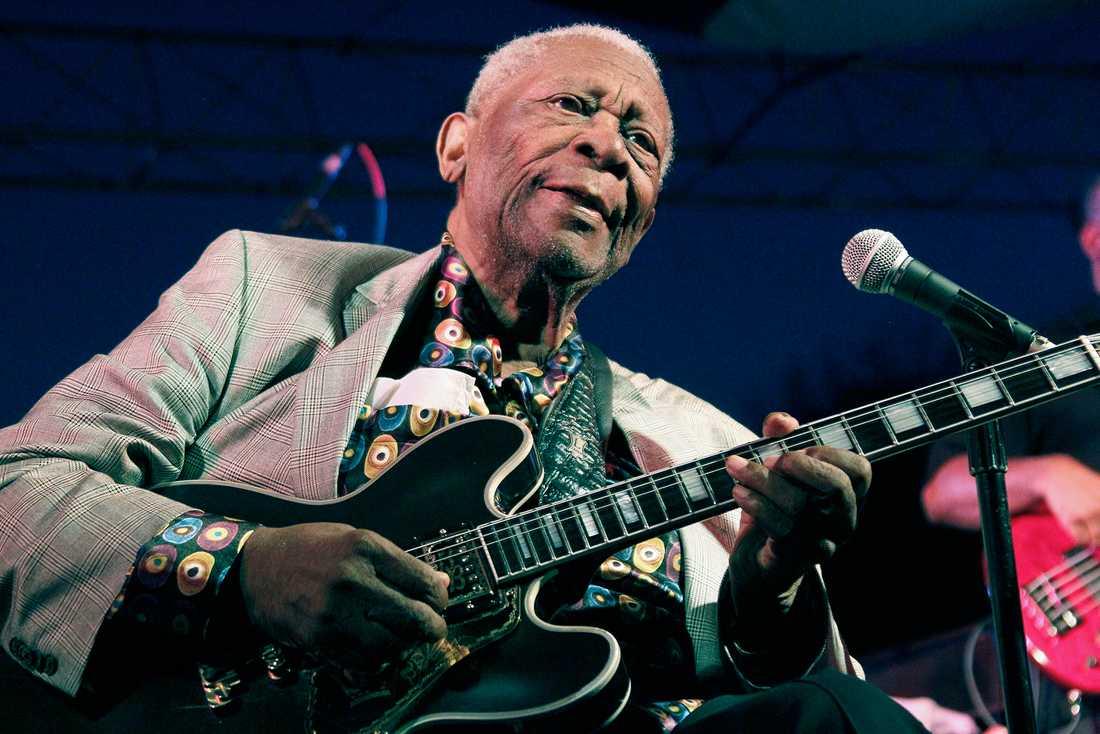 BB King, eller Riley B King som han egentligen heter, föddes 1925 i Mississippi och var en av de största och mest betydelsefulla bluesgitarristerna någonsin