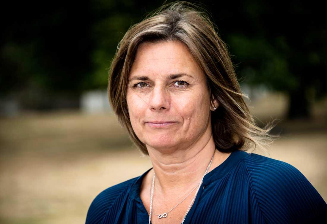 Språkröret Isabella Lövin (MP).