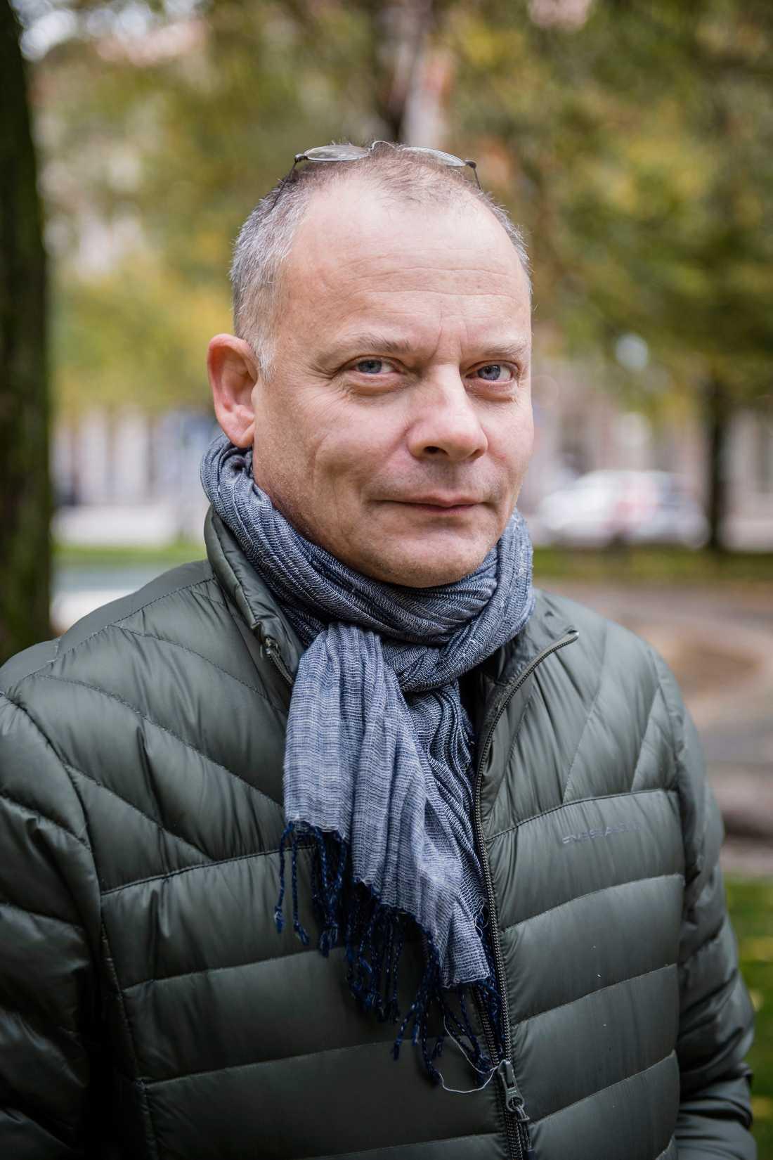 Fackordföranden vid Stockholms Stadsteater, skådespelaren Gerhard Hoberstorfer.