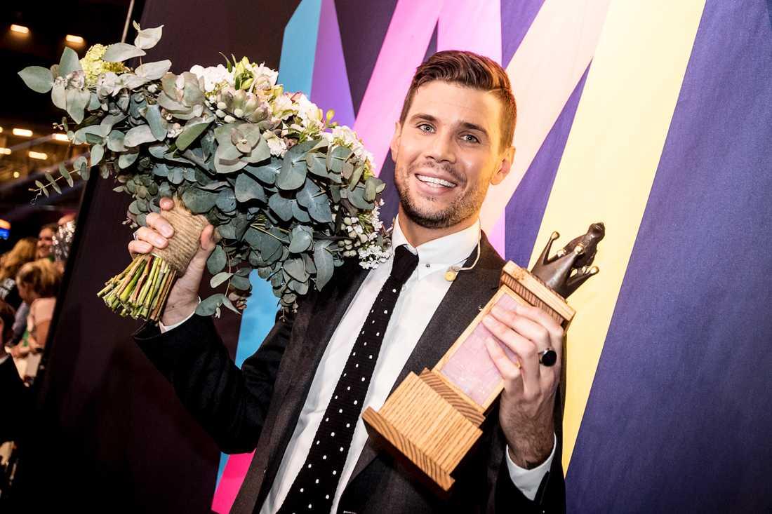 Robin Bengtsson representerar Sverige i Eurovision.