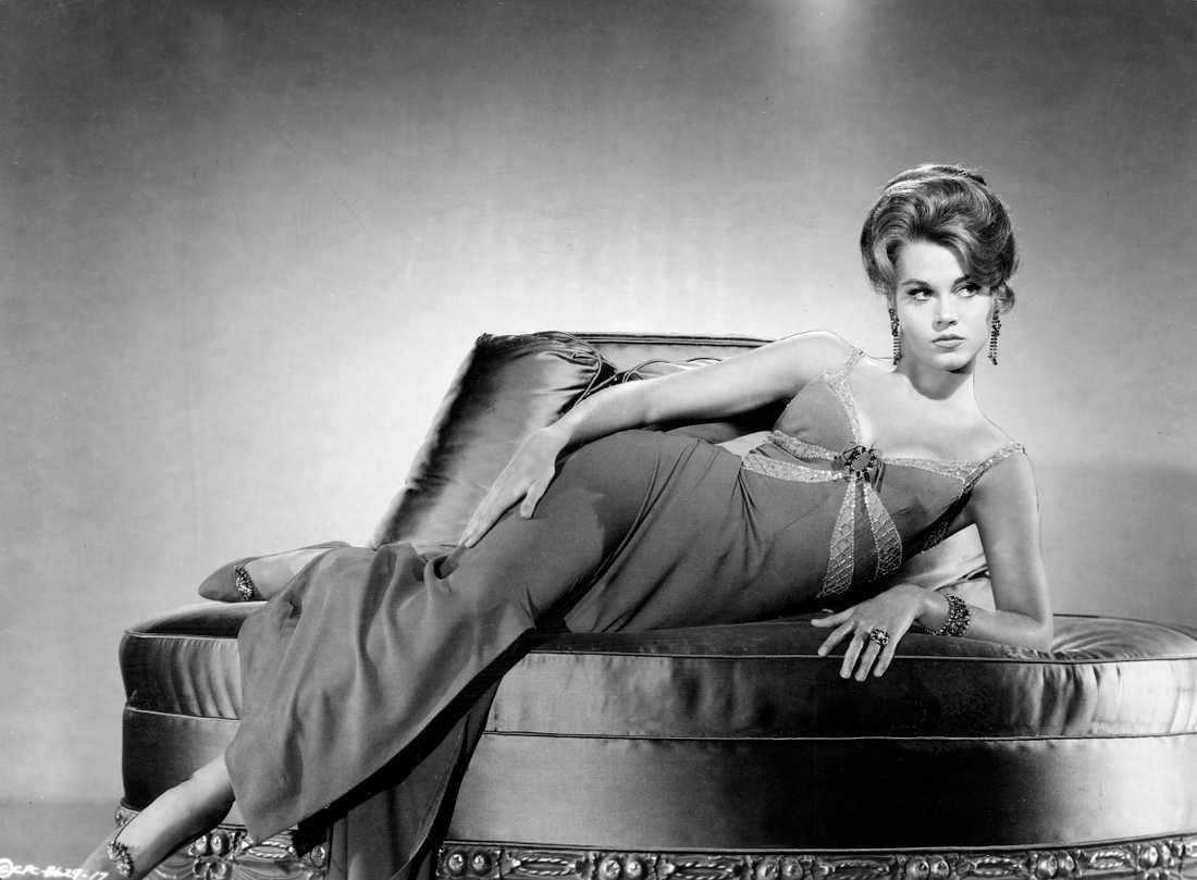 En ung Jane Fonda.