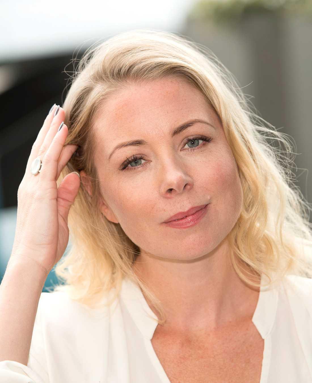 Julia Dufvenius, skådespelare.