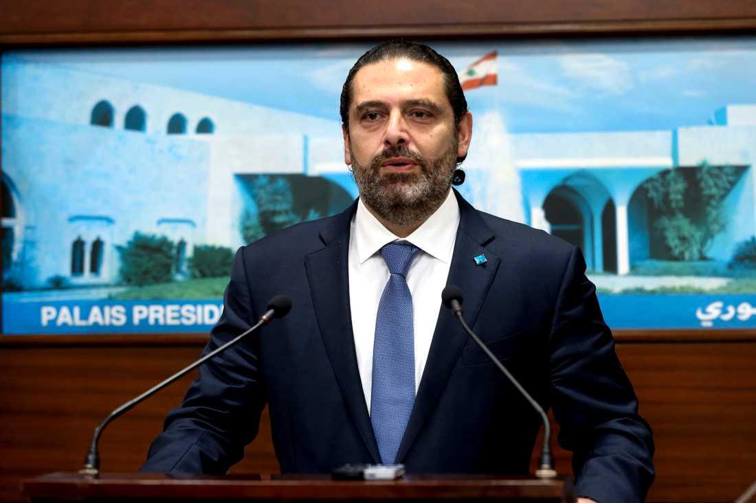 Libanons premiärminister Saad al-Hariri avgår, enligt Reuters.