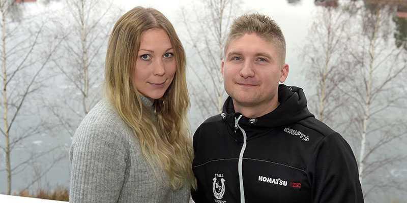 Rebecca Dahlén och Dennis Palmqvist får träna ryska miljardärens hästar.