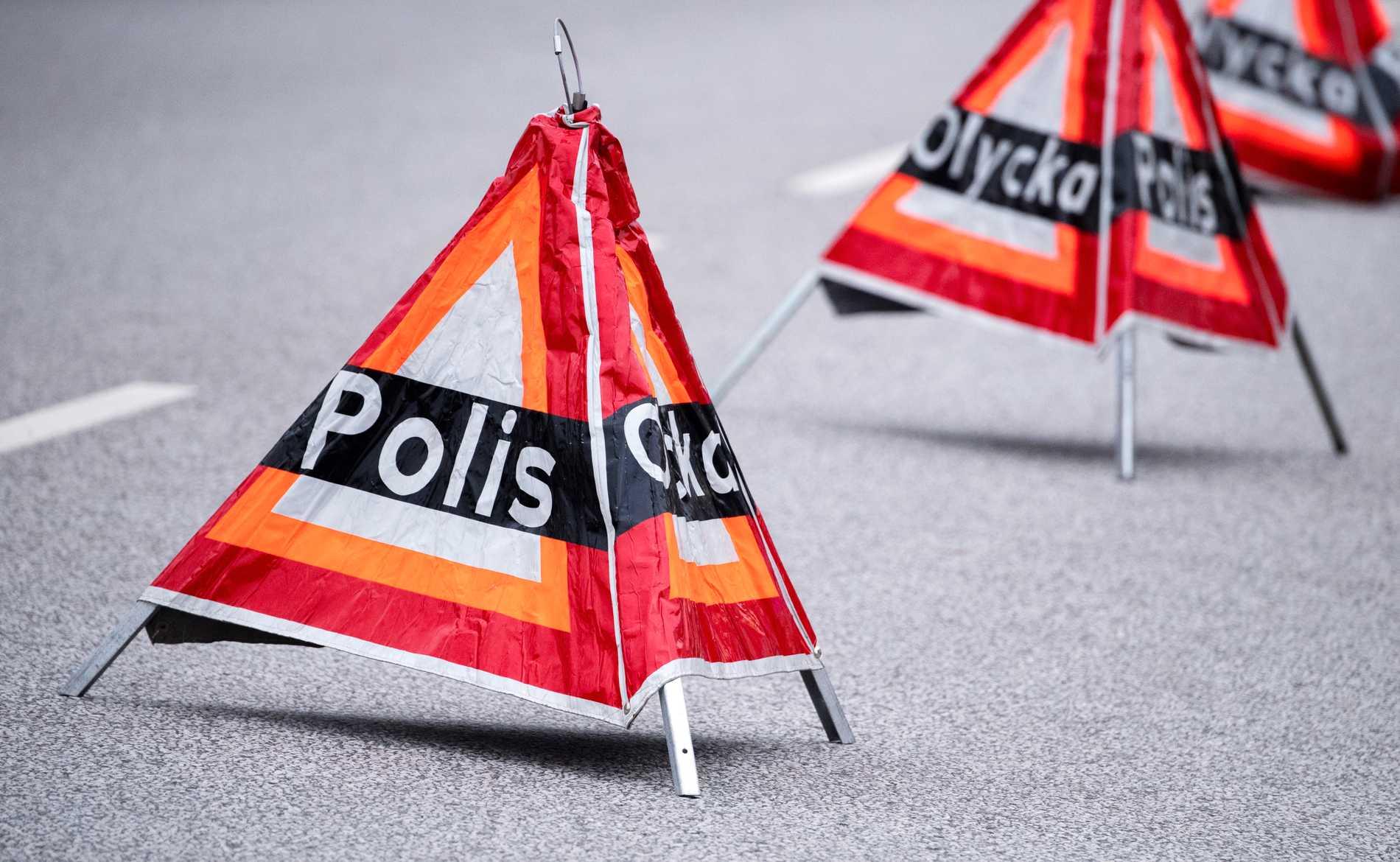 En person skadades när han träffades av en flygvinge på landningsbanan på Härjeåsjöns flygplats i Härjedalen. Arkivbild.