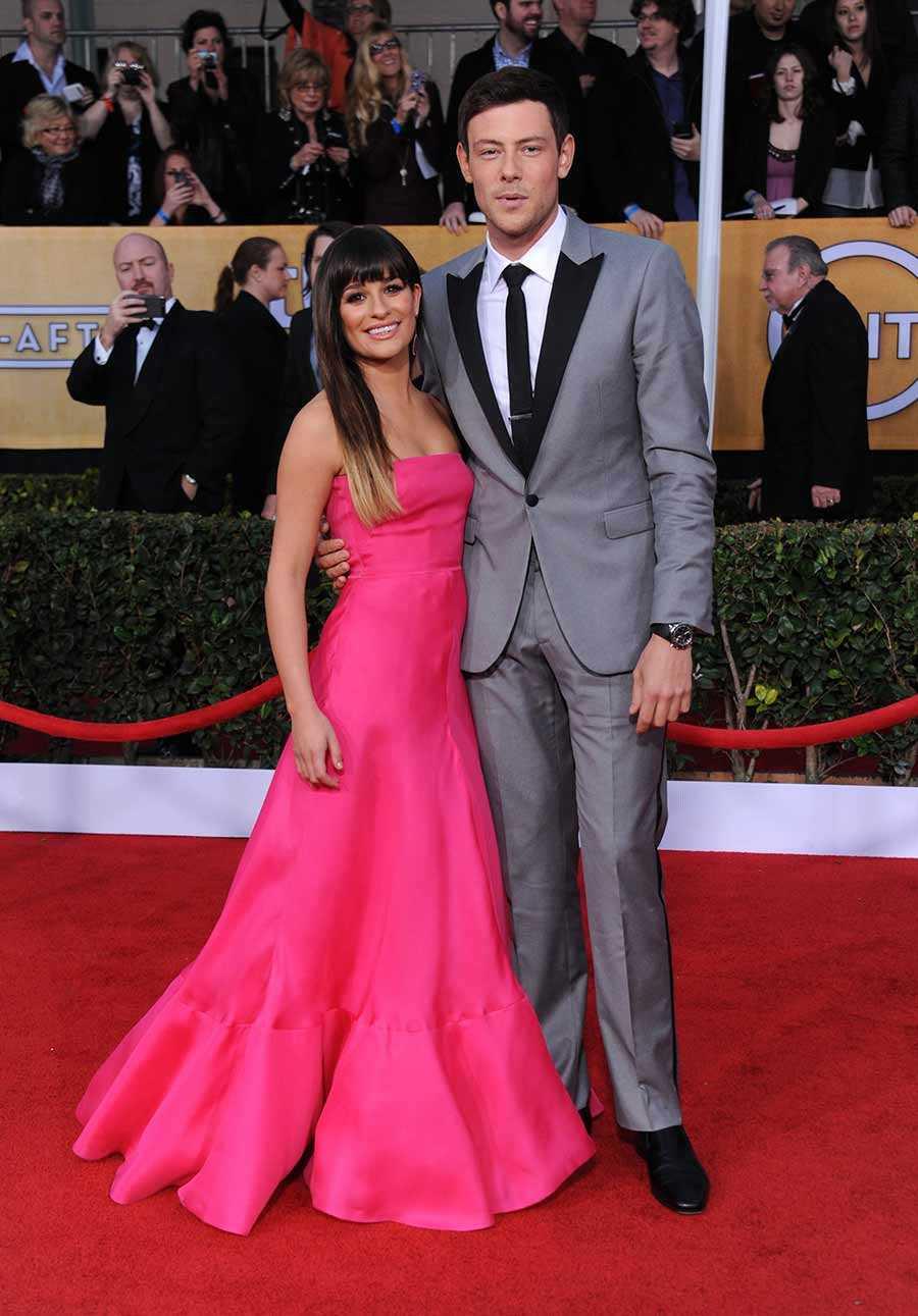 Cory Monteith och Lea Michele.