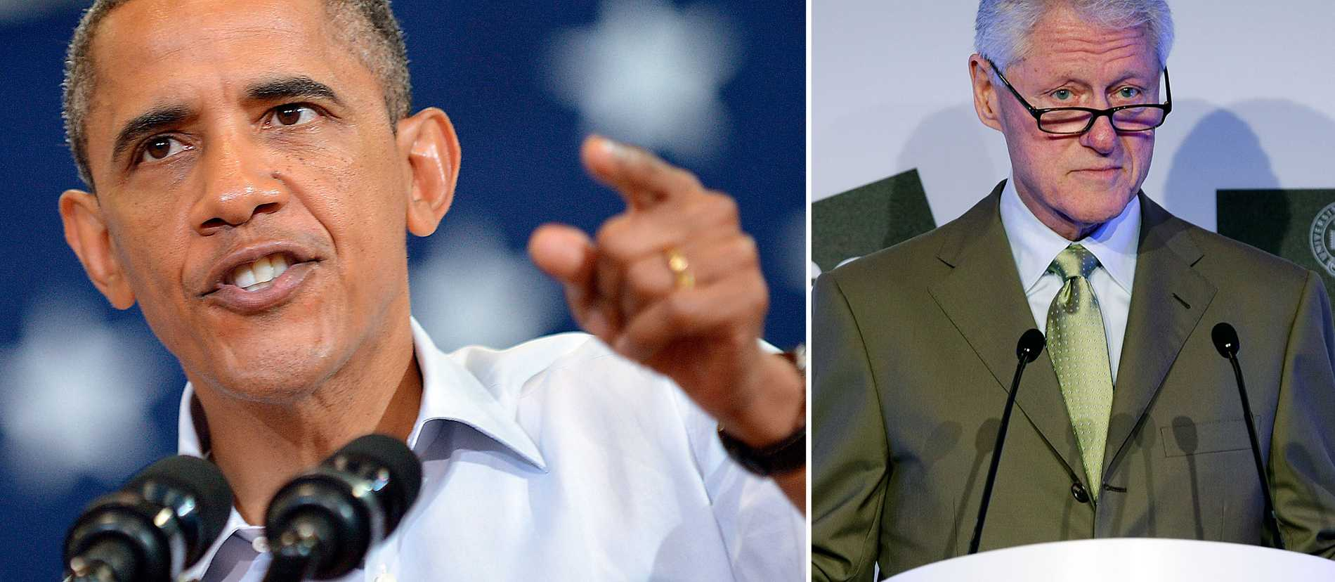 Obama-administrationen anklagar Romney för att ljuga. Nu får han stöd av den förre presidenten Bill Clinton.