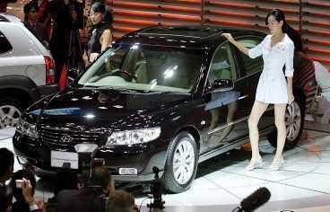 Hyundai Grandeur Kommer: i höst. Ny toppmodell i storfformat med 3,3-liters V6:a på 235 hästar.