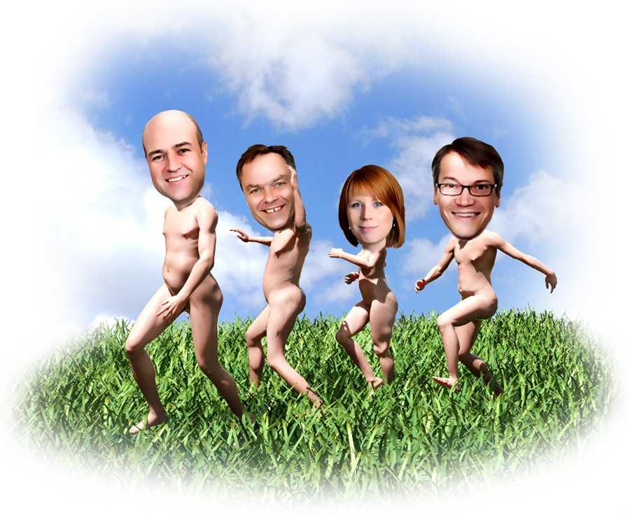 familj pojkar naken