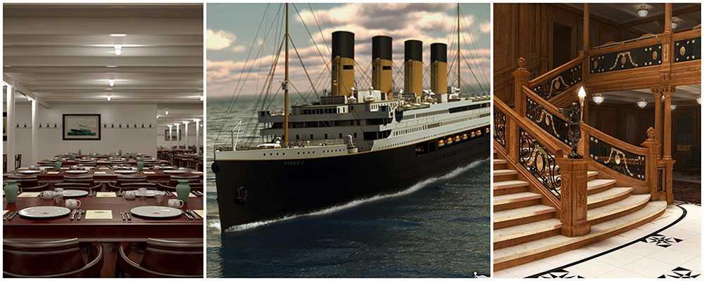 Snart kan du kryssa med Titanic II.