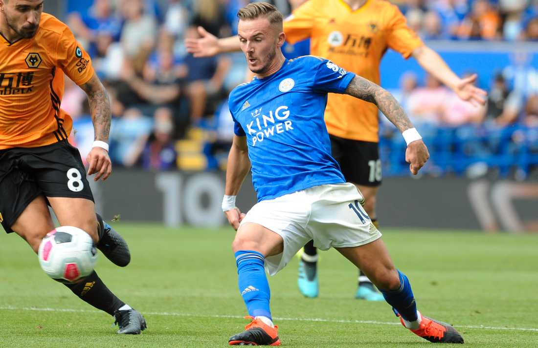 James Maddison, Leicester.