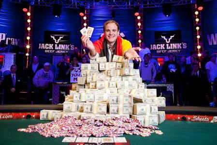 Pius Heinz vann 8 715 638 dollar i fjolårets turnering.