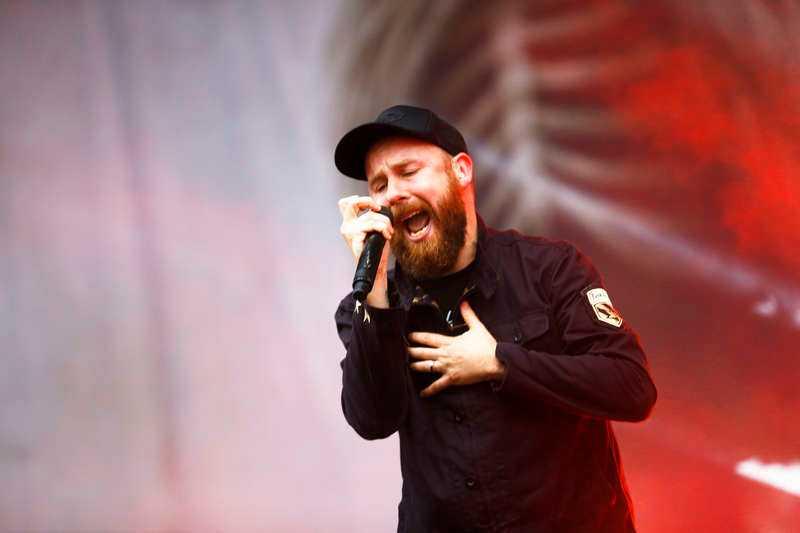 Anders Fridén och In Flames är tillbaka på Grönan efter fem år.