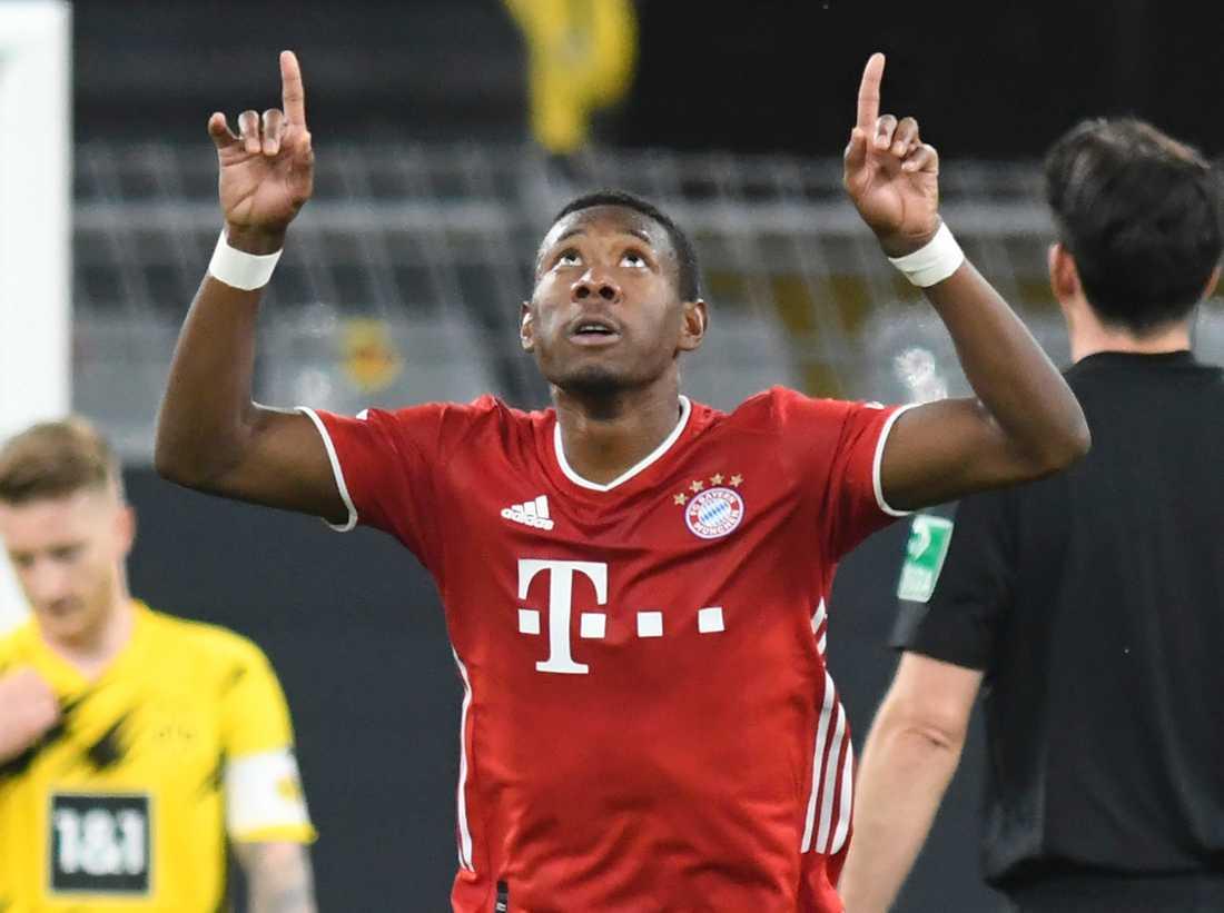 Bayern Münchens David Alaba är en av flera storstjärnor i den europeiska toppfotbollen som kan byta klubb i januari. Arkivbild.