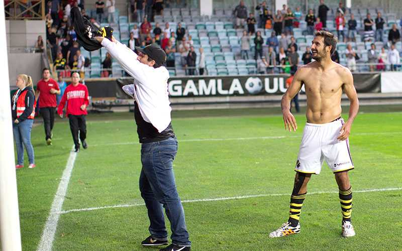 Borges kan ha gjort sin sista match i AIK.