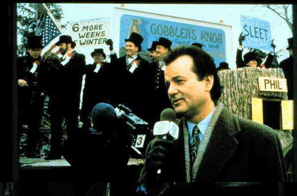"""Bill Murray i """"Måndag hela veckan""""."""