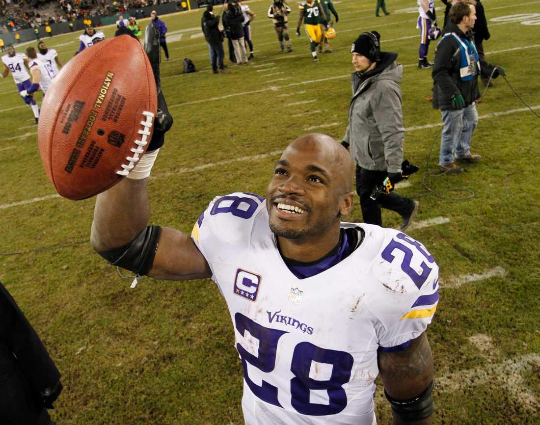 Peterson i förra klubben Minnesota.