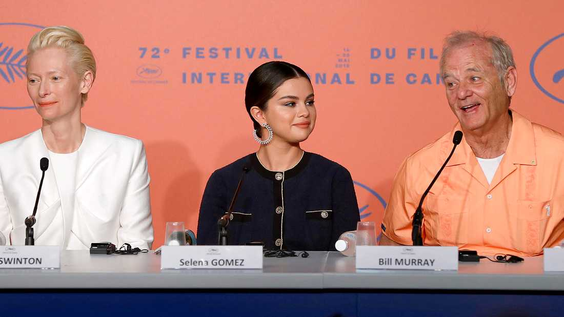 "Tilda Swinton, Selena Gomez och Bill Murray pratar om ""The dead don t die"" på filmfestivalen i Cannes."