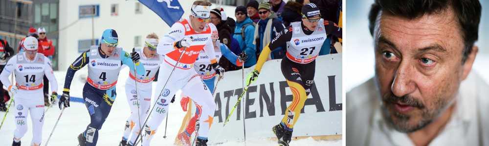 lovar stort avslöjande  Janne Josefsson var på plats nere i Val di Fiemme för att fronta.