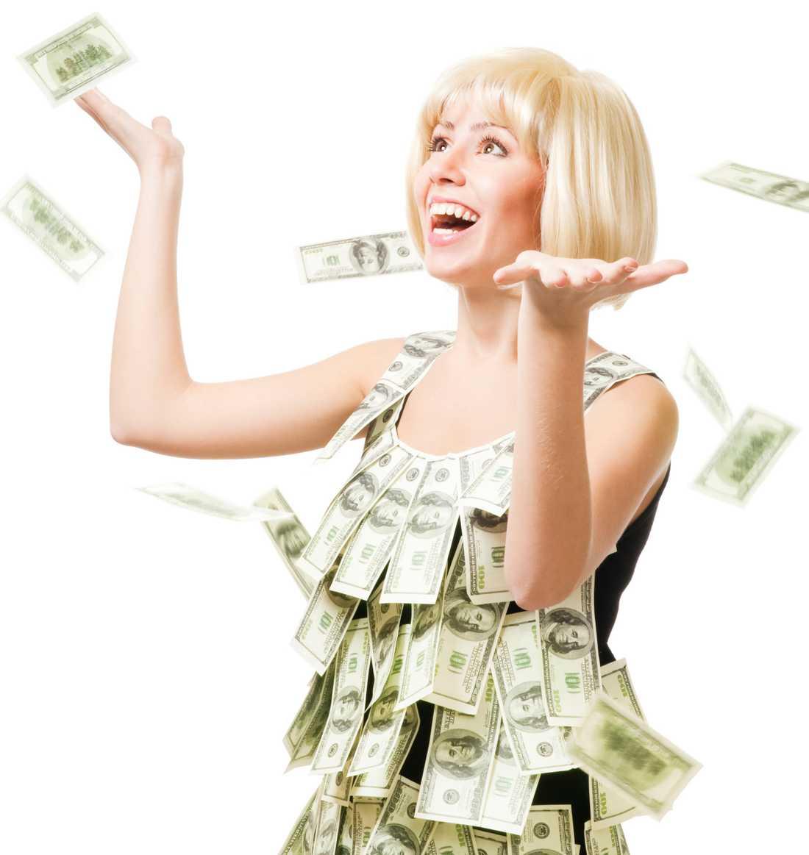 Nej, man blir inte lyckligare av att ha massor av pengar, menar forskarna. Varje persons lyckokvot är genetiskt bestämd.