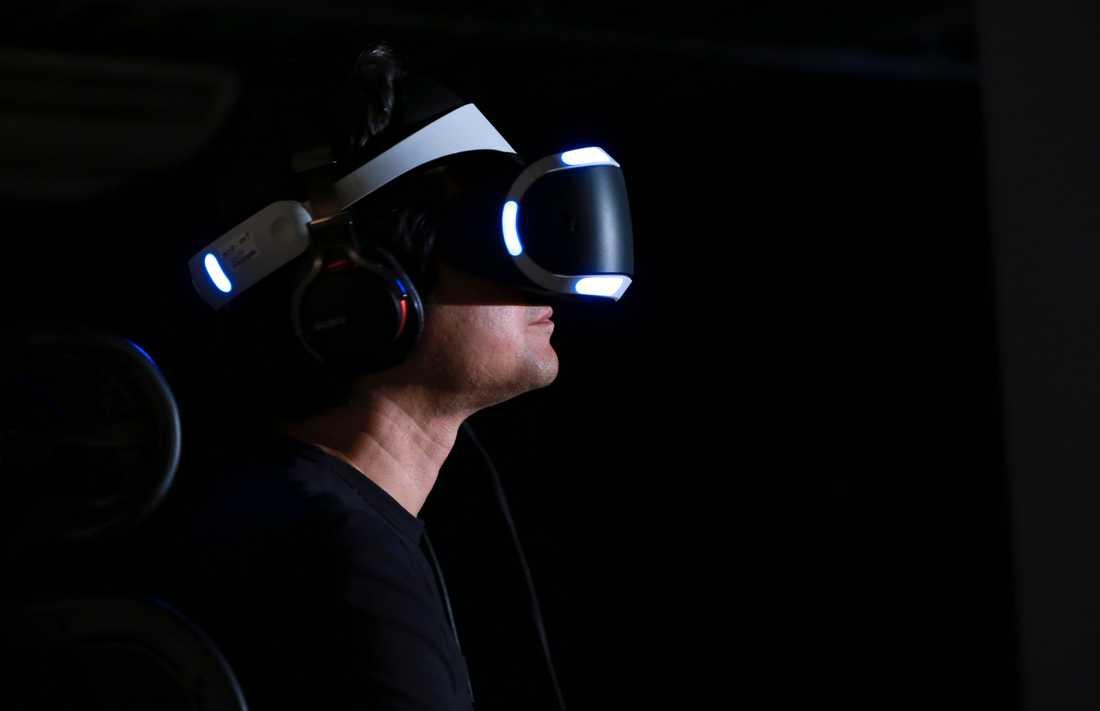 Med hjälp av virtual reality får patienter hjälp med att behandla aggression. Bilden är tagen vid ett annat tillfälle. Arkivbild.