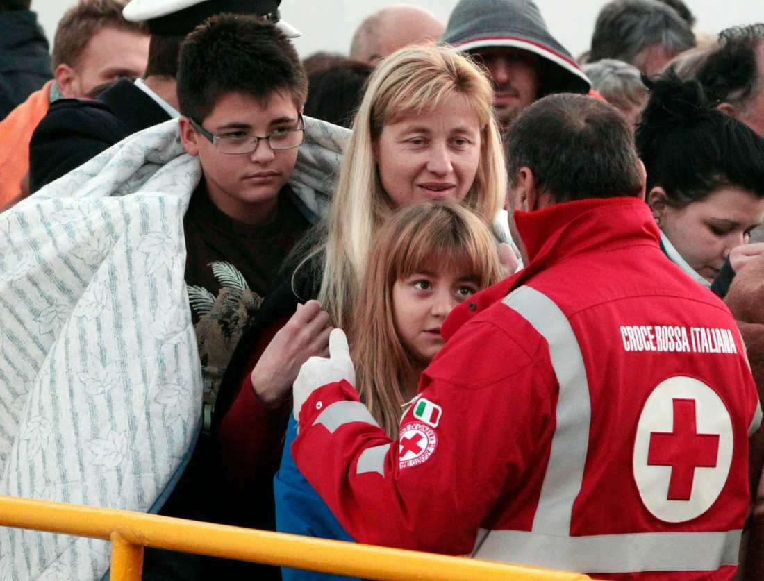 """Svensken Jan Mosander var ombord: """"Det var många barn ombord, och de var livrädda."""""""