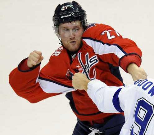 Karl Alzner, 24 år, back, Washington Capitals 215 NHL-matcher, dubbel JVM-mästare