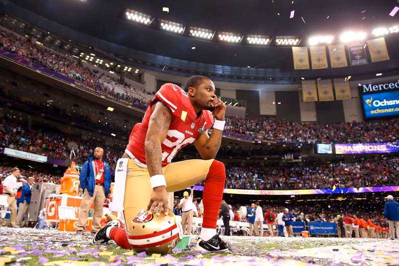 49ers Perrish Cox deppar. Foto: AFP, Getty