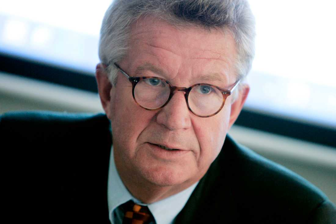 Professor Johan Giesecke, tidigare statsepidemiolog och nu rådgivare åt WHO.