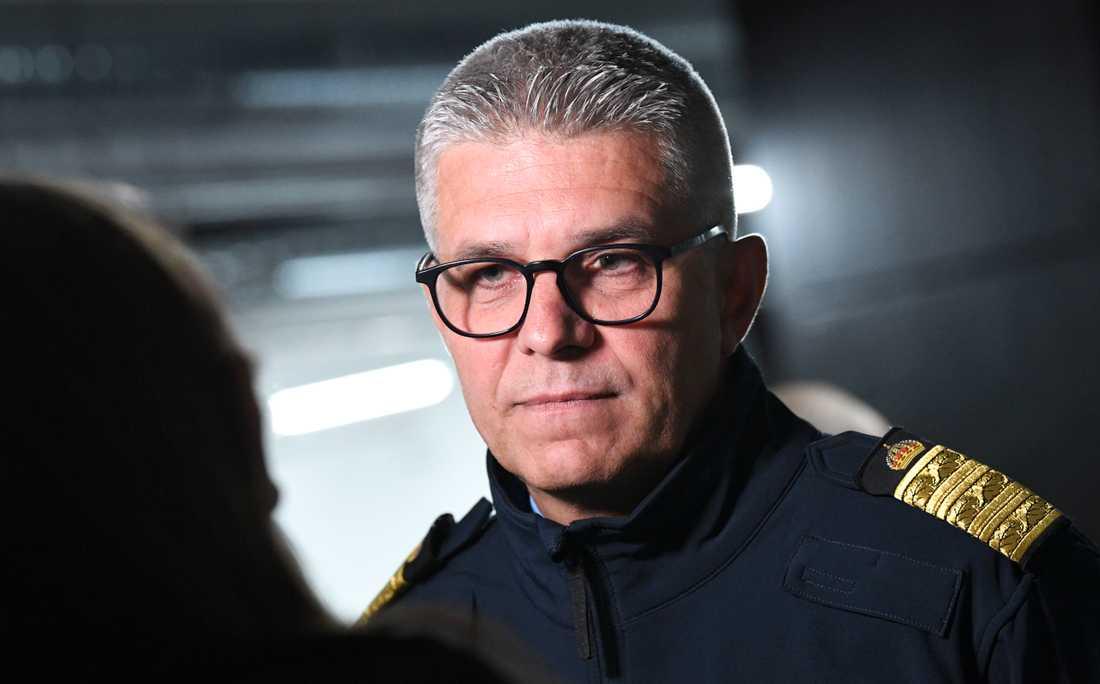 Rikspolischef Anders Thornberg.